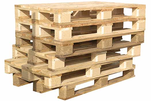 Image of Used Wood Pallets in Widnes, Cheshire